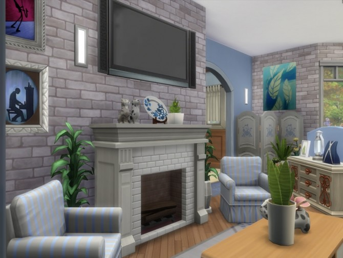 Hawthorne house No CC by Lenabubbles82 at Mod The Sims image 833 670x503 Sims 4 Updates
