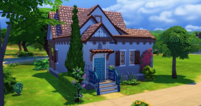 Sims 4 Blanche Starter by Angerouge at Studio Sims Creation