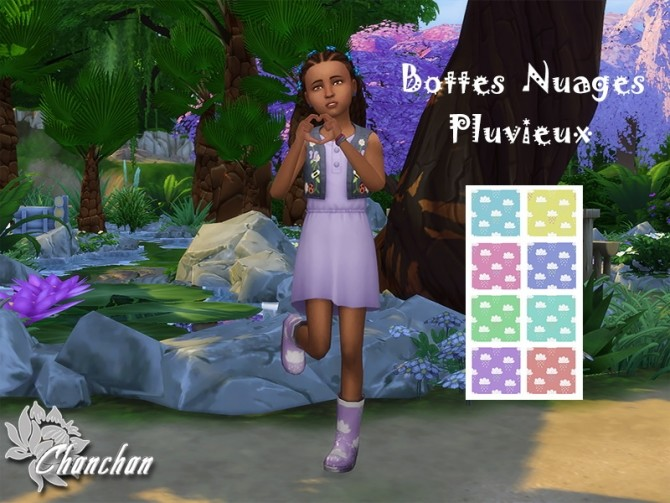 Boots for kids by Chanchan24 at Sims Artists image 8516 670x503 Sims 4 Updates