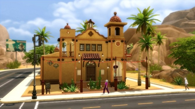 La Catarina Restaurant by Moscowlyly at Mod The Sims image 868 670x377 Sims 4 Updates