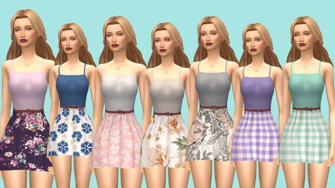 Sophie Dress v2 at Kass image 8716 670x377 Sims 4 Updates