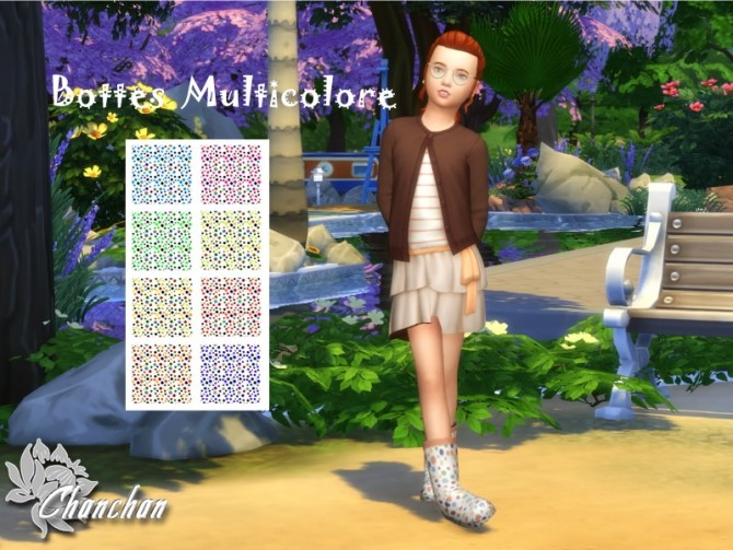 Boots for kids by Chanchan24 at Sims Artists image 8717 670x503 Sims 4 Updates