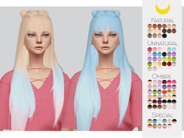 Sims 4 Hair Retexture 38 LeahLilliths Everyday by Kalewa a at TSR