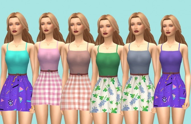 Sophie Dress v2 at Kass image 8816 670x434 Sims 4 Updates