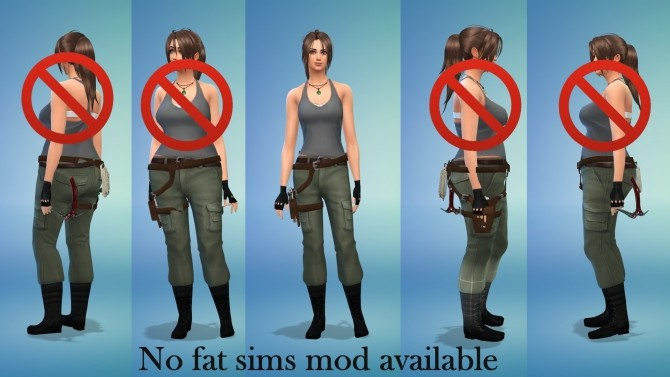 Lara Croft Tomb Raider Holster Gun Belt by Sri at Mod The Sims image 8819 670x377 Sims 4 Updates