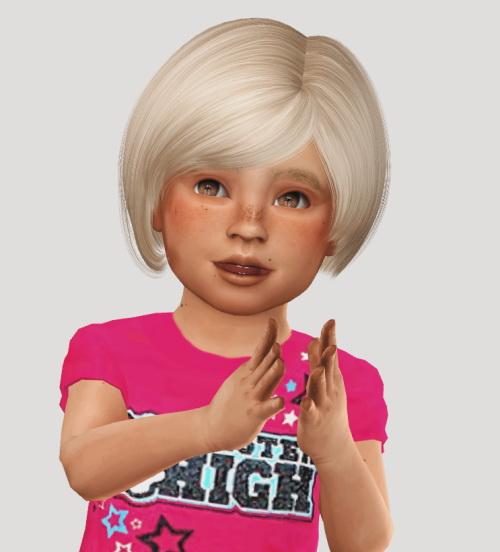Sims 4 Ade Daisy Hair Kids & Toddlers at Simiracle