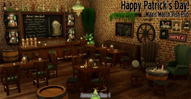 Irish Pub By Sandy At Around The Sims 4 187 Sims 4 Updates