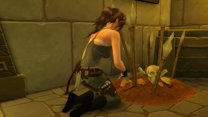 Lara Croft Tomb Raider Holster Gun Belt by Sri at Mod The Sims image 8919 670x377 Sims 4 Updates