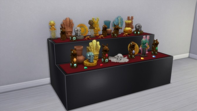 Sims 4 Display Cases & Pedestals from TS3 by TheJim07 at Mod The Sims
