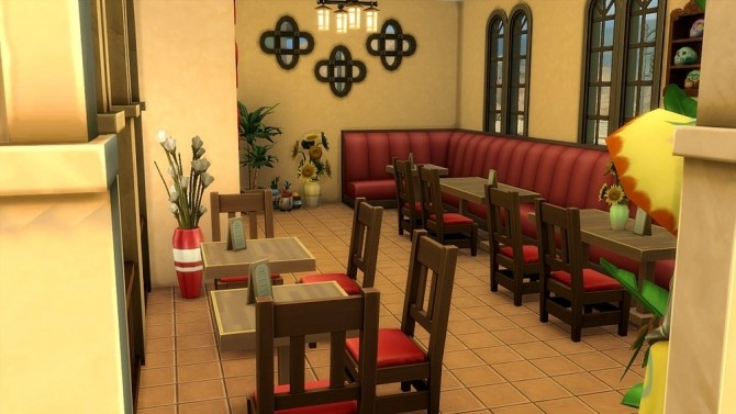 La Catarina Restaurant by Moscowlyly at Mod The Sims image 898 670x377 Sims 4 Updates