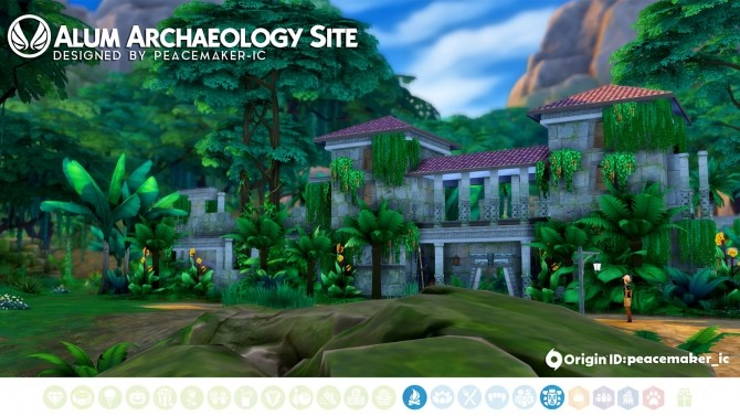 Alum Archaeology Site Jungle Adventure Location at Simsational Designs image 902 670x377 Sims 4 Updates