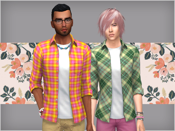 Male top by WistfulCastle at TSR image 9101 Sims 4 Updates