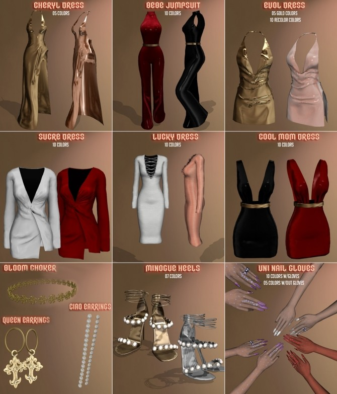 All The Stars Collection at Vittler Universe image 9113 670x783 Sims 4 Updates