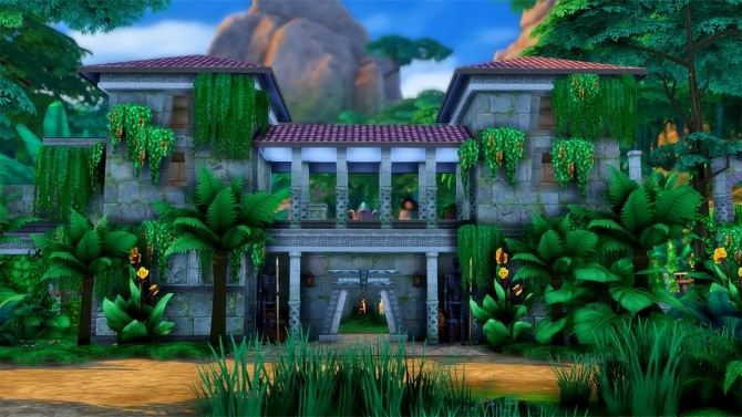 Alum Archaeology Site Jungle Adventure Location at Simsational Designs image 913 670x377 Sims 4 Updates