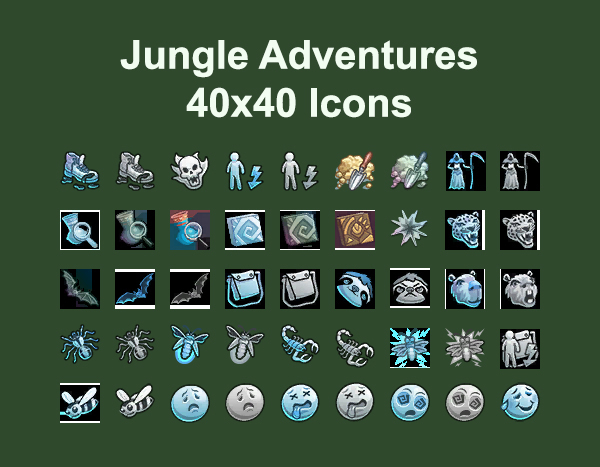 Jungle Adventure Icons by Simmiller at Mod The Sims image 92 Sims 4 Updates