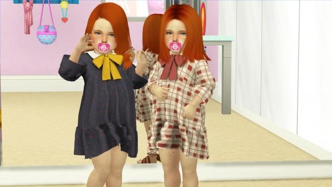 Sims 4 SKBP FESTIVE DRESS by Thiago Mitchell at REDHEADSIMS