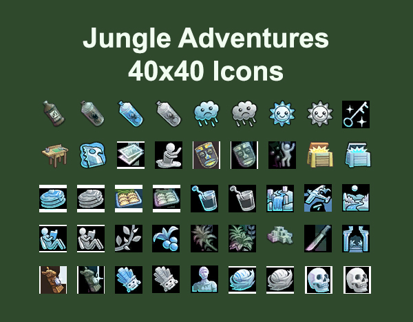Jungle Adventure Icons by Simmiller at Mod The Sims image 93 Sims 4 Updates
