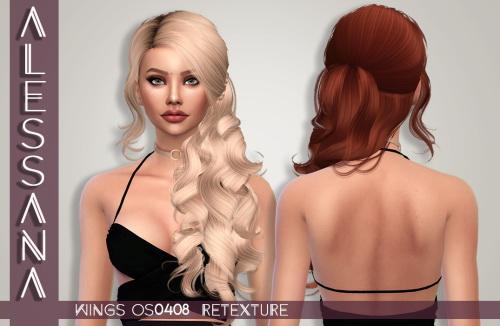 Wings OS0408 Hair Retexture at Alessana Sims image 9310 Sims 4 Updates