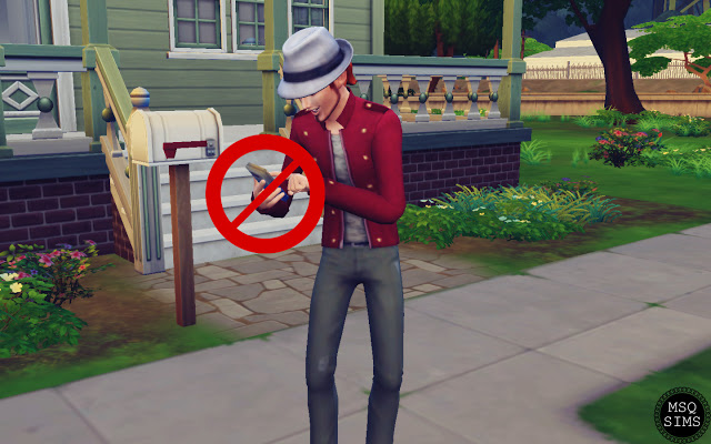 No Autonomous Play Games by Phone Mod at MSQ Sims image 9314 Sims 4 Updates