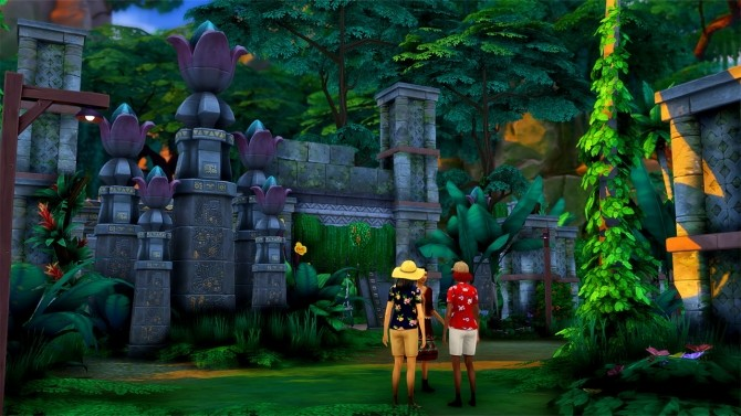 Alum Archaeology Site Jungle Adventure Location at Simsational Designs image 932 670x377 Sims 4 Updates