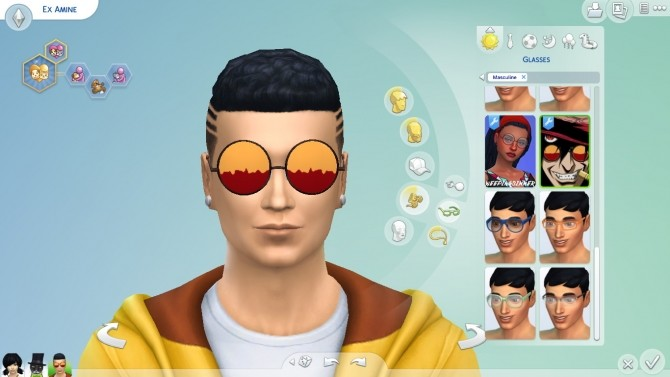 Alucards Glasses (Hellsing) by EmilitaRabbit at Mod The Sims image 9410 670x377 Sims 4 Updates