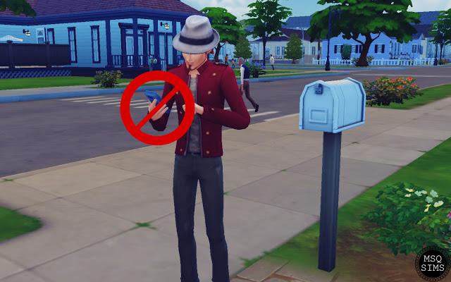 Sims 4 No Autonomous Browse Websites by Phone Mod at MSQ Sims
