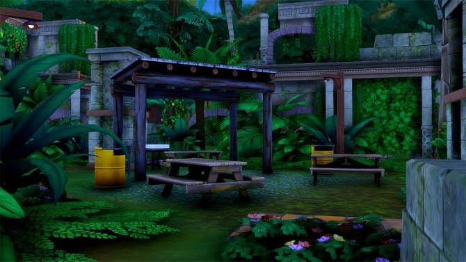 Alum Archaeology Site Jungle Adventure Location at Simsational Designs image 942 670x377 Sims 4 Updates