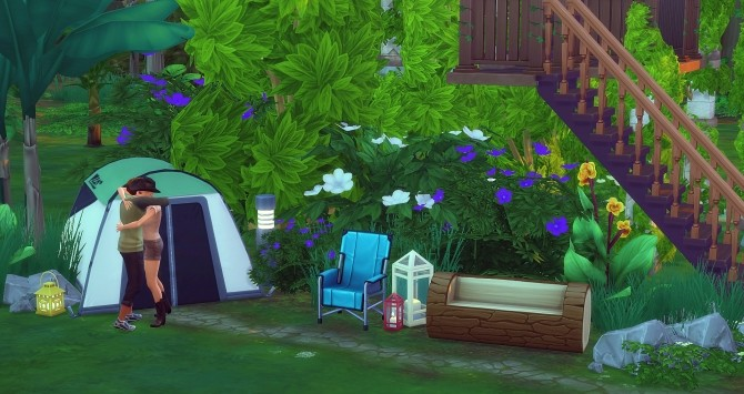 Perchée cabin by Angerouge at Studio Sims Creation image 945 670x355 Sims 4 Updates