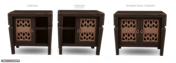 Sims 4 Selvadoradian Cabinets at SimLaughLove