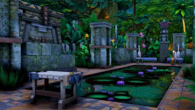 Alum Archaeology Site Jungle Adventure Location at Simsational Designs image 962 670x377 Sims 4 Updates
