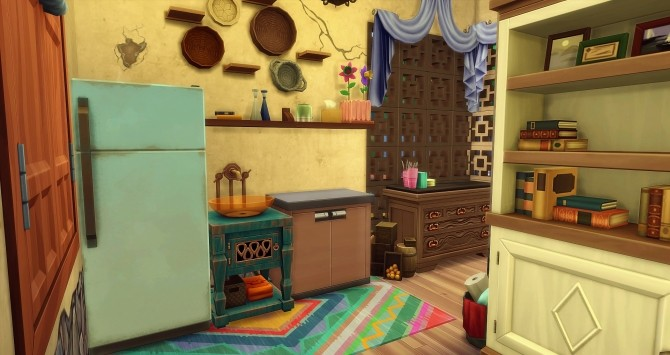 Perchée cabin by Angerouge at Studio Sims Creation image 965 670x355 Sims 4 Updates