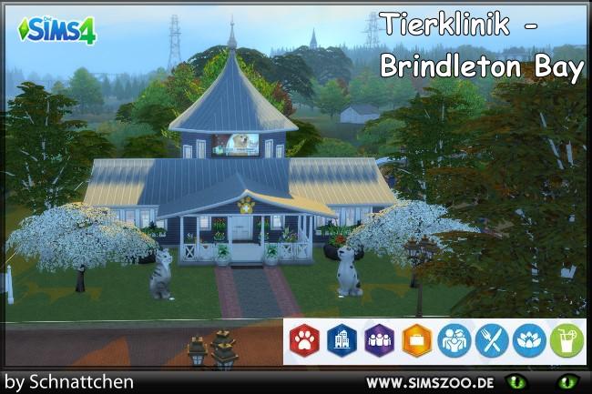 Sims 4 Tierklinik Brindleton Bay by Schnattchen at Blacky's Sims Zoo