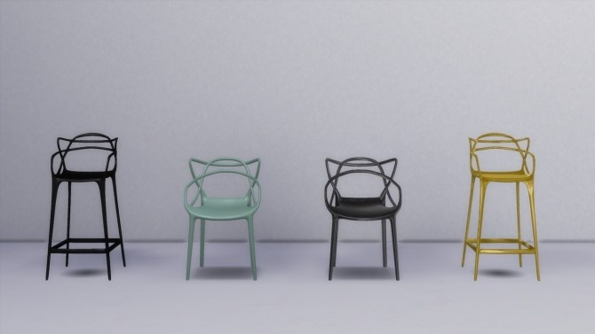 Master Collection (chair + stool) at Meinkatz Creations image 982 670x377 Sims 4 Updates