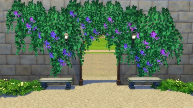 Tropical Vines in Bloom by Snowhaze at Mod The Sims image 987 670x377 Sims 4 Updates