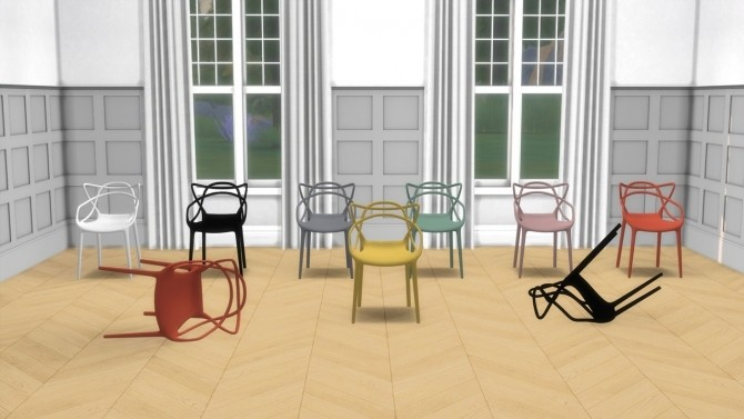 Master Collection (chair + stool) at Meinkatz Creations image 992 670x377 Sims 4 Updates