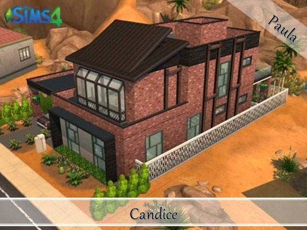 Industrial Loft Candice by PaulaBATS at TSR image 1003 Sims 4 Updates