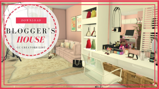 Modern & Luxury Bloggers House at Dinha Gamer image 10110 Sims 4 Updates