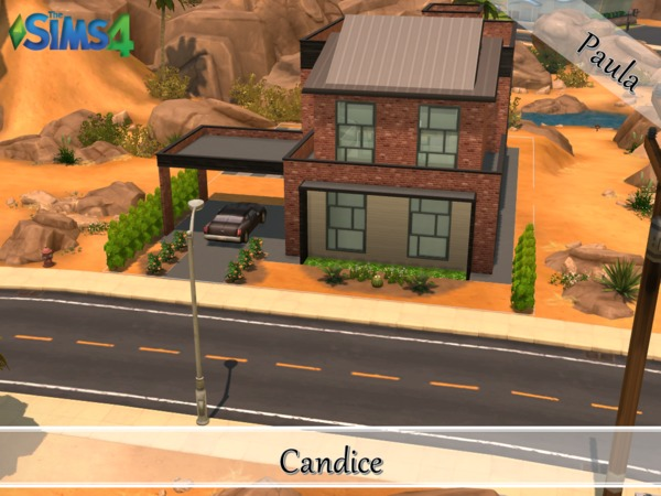 Industrial Loft Candice by PaulaBATS at TSR image 1015 Sims 4 Updates