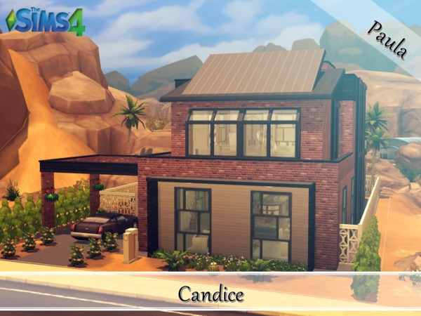 Industrial Loft Candice by PaulaBATS at TSR image 1023 Sims 4 Updates