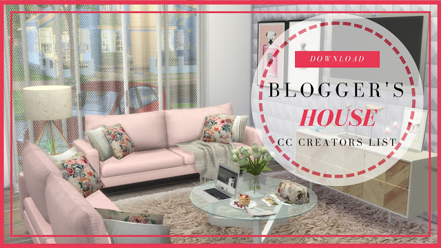 Modern & Luxury Bloggers House at Dinha Gamer image 1026 Sims 4 Updates