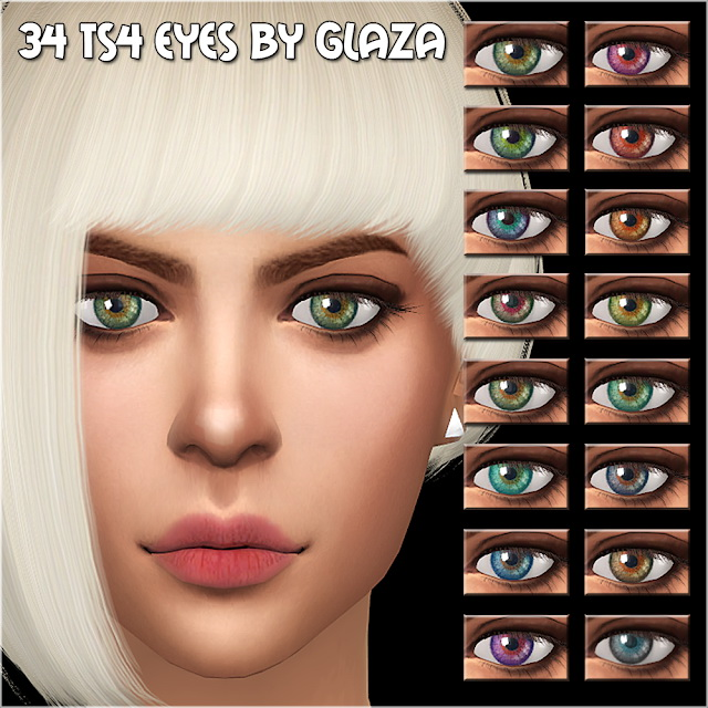 Eyes 34 at All by Glaza image 1035 Sims 4 Updates
