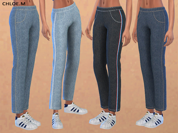 Straight Leg Jeans by ChloeMMM at TSR image 1050 Sims 4 Updates
