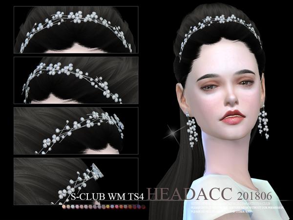 Headacc F 201806 by S Club WM at TSR image 1052 Sims 4 Updates