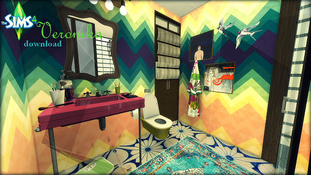 Veronika bathroom at Pandasht Productions image 1066 Sims 4 Updates