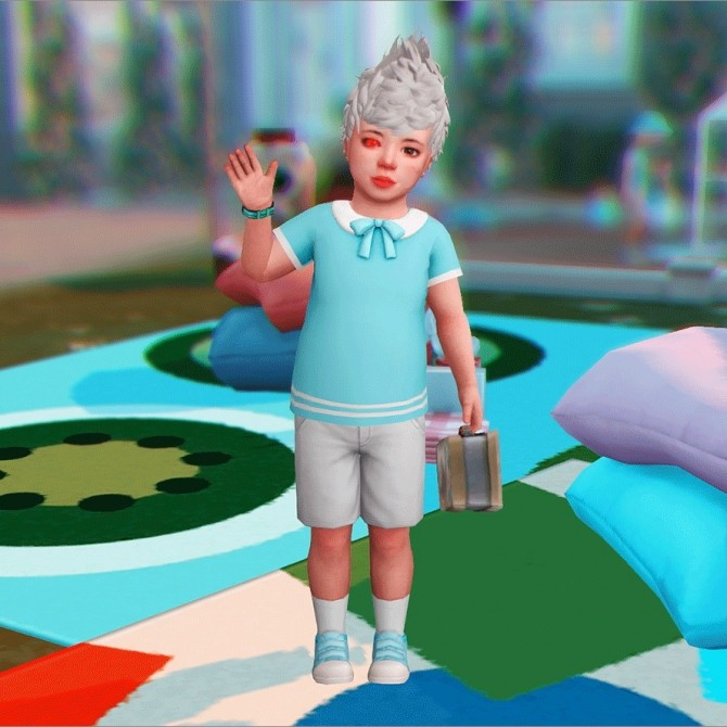 Toddler Pose N06 + Accessories at qvoix – escaping reality image 106 p3 670x670 Sims 4 Updates