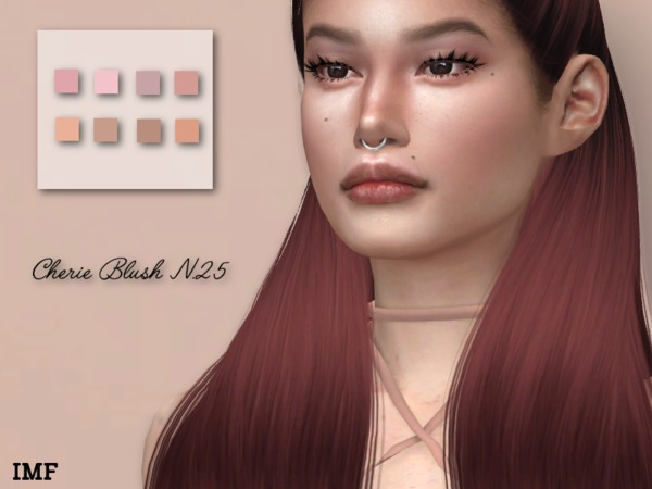 IMF Cherie Blush N.25 by IzzieMcFire at TSR image 1072 Sims 4 Updates