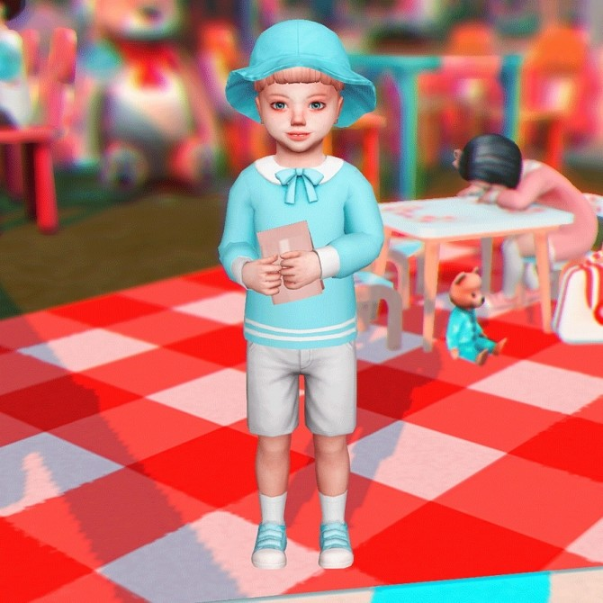 Toddler Pose N06 + Accessories at qvoix – escaping reality image 108 p1 670x670 Sims 4 Updates