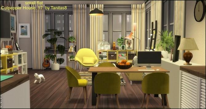 Sims 4 Culpepper House 17 small flat apartment at Tanitas8 Sims