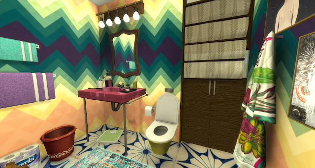 Veronika bathroom at Pandasht Productions image 1096 Sims 4 Updates