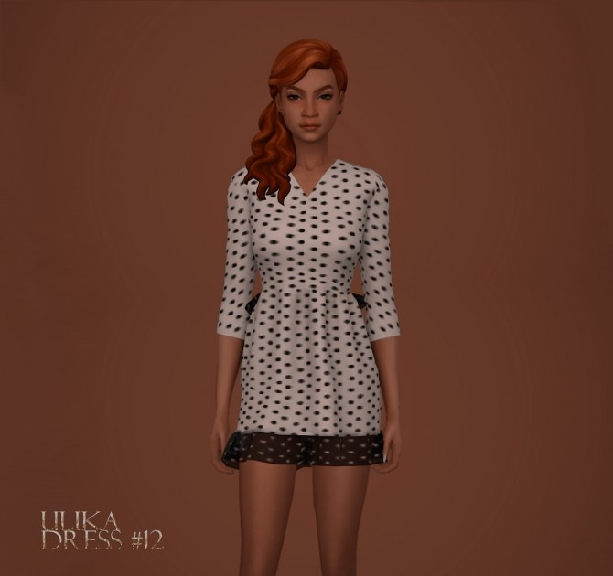 Sims 4 Dress #12 at Kumvip – UliKa